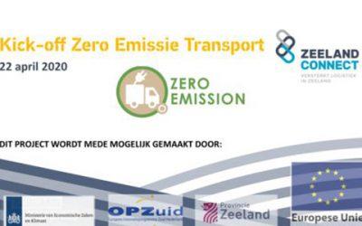 Kick-off Zero Emissie Transport