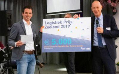 Uitreiking logistiek prijs Zeeland 2019