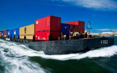Dagelijks 2.000 containers van weg naar binnenvaart